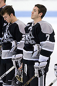 Eric Baier (Providence - 7) - The Northeastern University Huskies defeated the visiting Providence College Friars 5-0 on Saturday, November 20, 2010, at Matthews Arena in Boston, Massachusetts.