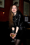 Maria Brodskaya After Her Performance at Caffe Vivaldi, NY 11/24/12