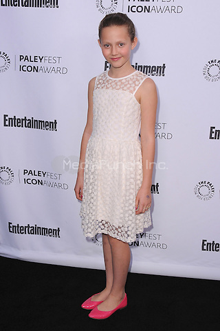 BEVERLY HILLS, CA - MARCH 10:  Iris Apatow arrives at the 2014 PaleyFest Icon Award to Judd Apatow at the Paley Center for the Media on March 10, 2014 in Beverly Hills, California. MPI213/MediaPunch