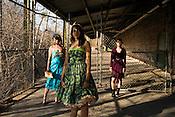 March 18, 2009. Durham, NC.. Fashion at Golden belt in downtown Durham..