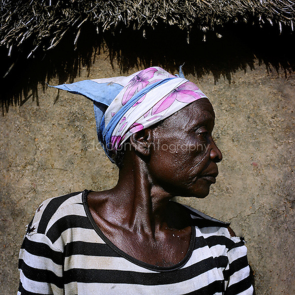 Asomni Konkra arrived in Gambaga a year ago. She was accused of being a witch by her son's wife. Asomni believes she is a witch. For 10 years, when she was sleeping, she often saw her Ôspirit move around her like waterÕ. On the nights when it would happen, the experience would wake her up but she would be to frightened to go back to sleep. She never told anyone about the episodes, but they stopped after she came to the camp.