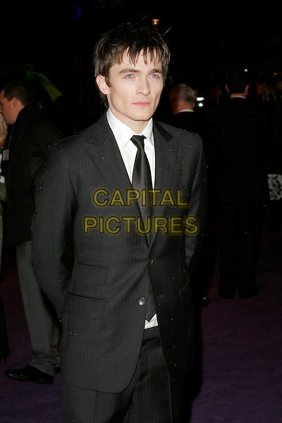 "RUPERT FRIEND.The World Premiere of ""The Young Victoria"" at the Odeon Leicester Square, London, England. .March 3rd 2009 .half length black suit jacket  .CAP/AH.©Adam Houghton/Capital Pictures."