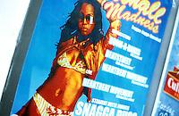 reggae-ragga-dancehall party advertisement poster in Leuven, 17/08/2004