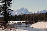 Snake River Teton National Park<br /> Wyoming