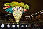 Chandelier on the Disney Fantasy cruise ship.