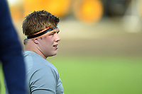 Sam Nixon of Bath United looks on during the pre-match warm-up. Remembrance Rugby match, between Bath United and the UK Armed Forces on May 10, 2017 at the Recreation Ground in Bath, England. Photo by: Patrick Khachfe / Onside Images