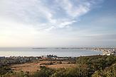 """Der Ferienort Sweti Wlas (""""Heiliger Wlas"""", nach dem Heiligen Blasius) an der bulgarischen Schwarzmeerküste."""