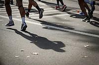 Runners attend the annual TCS New York City Marathon in Central Park New York 01.11.2015. Mary Keitany wins second consecutive NYC Marathon, Stanley Biwott is men's winner. Ken Betancur/VIEWpress.
