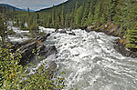 The Matthew River Falls at Ghost Lake, Cariboo, near Wells, B.C.