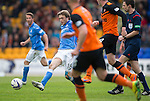 St Johnstone v Dundee United...09.05.15   SPFL<br /> Murray Davidson goes forward<br /> Picture by Graeme Hart.<br /> Copyright Perthshire Picture Agency<br /> Tel: 01738 623350  Mobile: 07990 594431