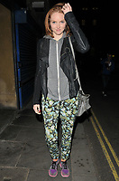 Lily Cole at the &quot;The Philanthropist&quot; theatre cast stage door departures, Trafalgar Studios, Whitehall, London, England, UK, on Friday 12 May 2017.<br /> CAP/CAN<br /> &copy;Can Nguyen/Capital Pictures /MediaPunch ***NORTH AND SOUTH AMERICAS ONLY***