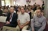 ***NO FEE PIC ***<br /> 11/06/2014<br /> Crowds during The Mercy Law Resource Centre's Annual Report for 2013 at Sophia Housing on Cork Street, Dublin.<br /> Photo:  Gareth Chaney Collins