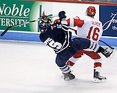 Jeff Zippel (Toronto - 15), Kevin Gilroy (BU - 16) - The Boston University Terriers defeated the visiting University of Toronto Varsity Blues 9-3 on Saturday, October 2, 2010, at Agganis Arena in Boston, MA.