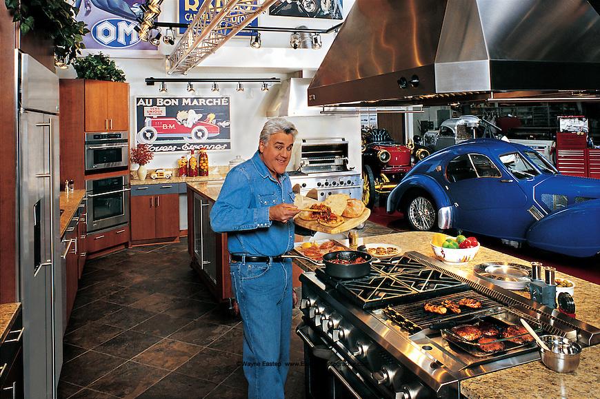 Jay Leno Kitchen In Big Dog Garage Burbank Ca Ge Monogram Wayne Eastep