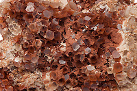 ARAGONITE<br /> Naturally Occurring Carbonate Mineral<br /> (Variations Available)<br /> Crystal form of calcium carbonate. This aragonite sample was mined in Morocco. Commonly replaced by calcium in fossils, aragonite also forms in the ocean and in caves as inorganic precipitates as marine cements and speleothems.