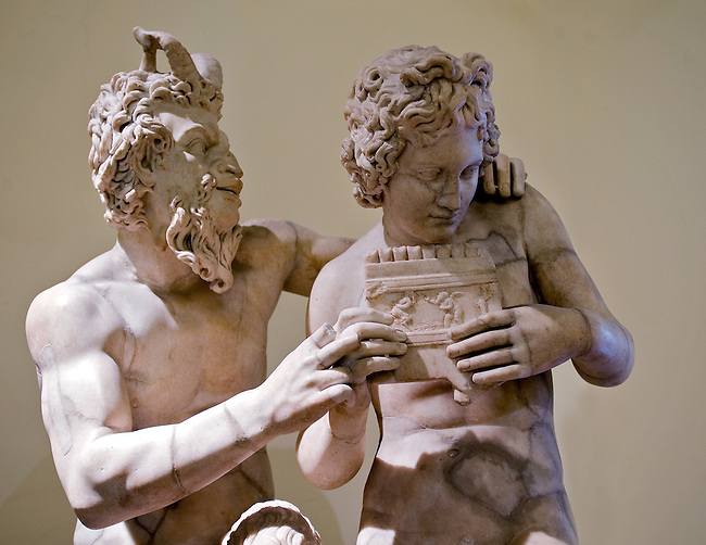 A marble sculpture in The Naples National Archaeological Museum (Museo Archeologico Nazionale di Napoli) is located in Naples, Italy, at the northwest corner of the original Greek wall of the city of Neapolis. The museum contains a large collection of Roman artifacts from Pompeii, Stabiae and Herculaneum. The collection includes works of the highest quality produced in Greek, Roman and Renaissance times.