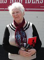 Burnley fans pre match<br /> <br /> Photographer Rachel Holborn/CameraSport<br /> <br /> The Premier League - Burnley v Manchester United - Sunday 23rd April 2017 - Turf Moor - Burnley<br /> <br /> World Copyright &copy; 2017 CameraSport. All rights reserved. 43 Linden Ave. Countesthorpe. Leicester. England. LE8 5PG - Tel: +44 (0) 116 277 4147 - admin@camerasport.com - www.camerasport.com