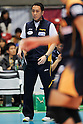 Shingo Sakai (Blazers), MARCH 5, 2011 - Volleyball : Sakai Blazers head coach Shingo Sakai during the 2010/11 Men's V.Premier League match between F.C.Tokyo 0-3 Sakai Blazers at Tokyo Metropolitan Gymnasium in Tokyo, Japan. (Photo by AZUL/AFLO).
