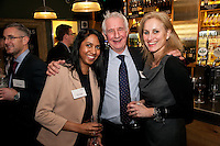 Parry Legett of Cockburn Lucas with Sneheni Danaher and Tracey Quiggin of The Nottingham