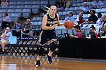 22 November 2016: Charleston Southern's Elyse Kiploks (AUS) (14). The University of North Carolina Tar Heels hosted the Charleston Southern University Buccaneers at Carmichael Arena in Chapel Hill, North Carolina in a 2016-17 NCAA Women's Basketball game. UNC won the game 93-77.