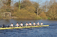 165 .SHR-A .IM3.8+ .Royal Shrewsbury Sch. Wallingford Head of the River. Sunday 27 November 2011. 4250 metres upstream on the Thames from Moulsford railway bridge to Oxford University's Fleming Boathouse in Wallingford. Event run by Wallingford Rowing Club.