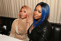 NEW YORK, NY - APRIL 27: Lil Kim and Remy Ma at the after party for the 2017 Tribeca Film Festival Screening of Can't Stop, Won't Stop: The Bad Boy Story at The Hunt & Fish Club in New York City on April 27, 2017. Credit: Walik Goshorn/MediaPunch