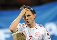 Fussball International  WM Qualifikation 2014   Italien - Daenemark                16.10.2012 William Kvist (Daenemark)