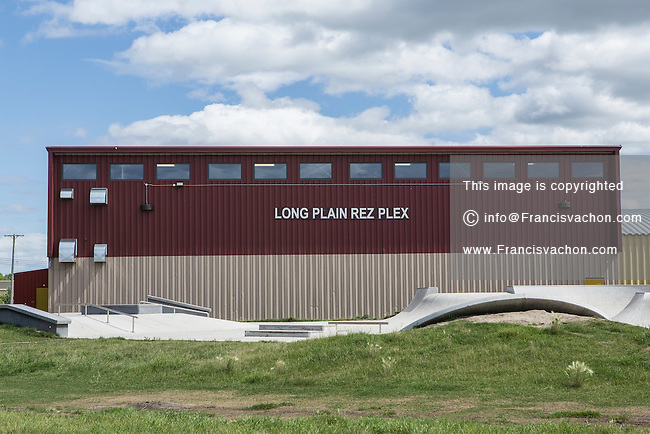 Long Plain First Nation Rez Plex skate park is seen in Manitoba, Monday August 17, 2015. Located near Portage la Prairie, the Long Plain First Nation is an Ojibway First Nations.