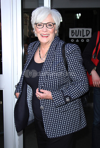 NEW YORK, NY - APRIL 14: Betty Buckley seen after an appearance on AOL's Build Series in New York City on April 14, 2017. Credit: RW/MediaPunch