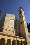 Israel, Jerusalem Mountains, the Church of the Visitation in Ein Karem