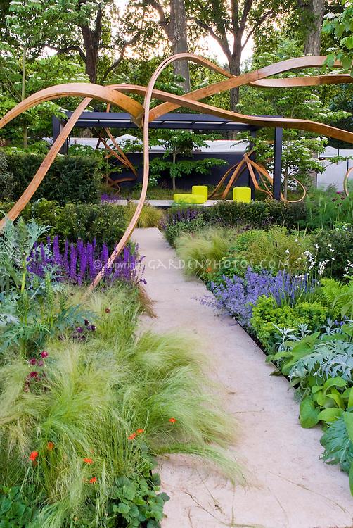 Backyard Sculpture Garden Garden Sculpture Artwork With