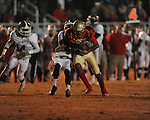 Lafayette High's DeBrico Burgess (22) vs. Louisville in MHSAA 4A playoff action at William L. Buford Field in Oxford, Miss. on Friday, November 18, 2011. Lafayette won 28-6 and will advance to play Amory.