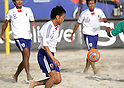 Takeshi Kawaharazuka (JPN),SEPTEMBER 2, 2011 - Beach Soccer :FIFA Beach Soccer World Cup Ravenna/Italy 2011, Group D match between Japan 2-3 Mexico at Stadio del Mare in Marina di Ravenna, Ravenna, Italy. (Photo by Wataru Kobayakawa/AFLO)