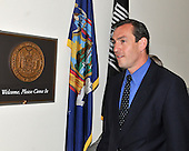 Washington, DC - May 7, 2008 -- United States Representative Vito J. Fossella (Republican of New York) arrives at his Capitol Hill office in Washington, DC on Wednesday, May 7, 2008.  Fossella has admitted to an extra-marital affair with Laura Fay, with whom he has fathered a daughter..Credit: Ron Sachs / CNP.(RESTRICTION: NO New York or New Jersey Newspapers or newspapers within a 75 mile radius of New York City)