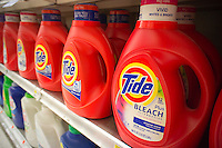 Tide detergent in a grocery store in New York on Tuesday, January 24, 2012. (© Richard B. Levine)