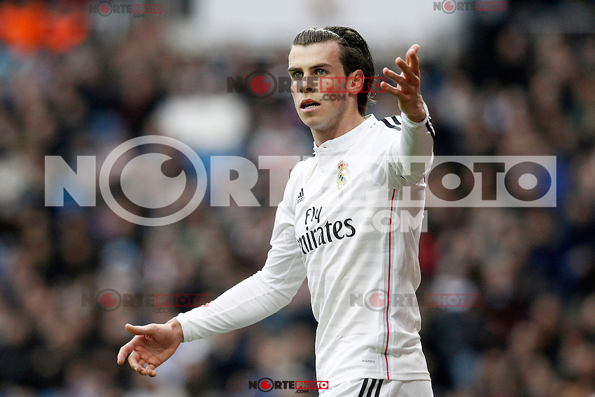 Real Madrid's Garet Bale during La Liga match.January 31,2015. (ALTERPHOTOS/Acero) /NortePhoto<br />