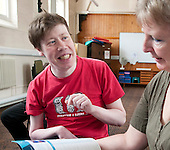Movement & Music, Learning Support group with their carers,  Adult Learning Centre, Guildford, Surrey.