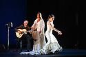 Sadler's Wells presents Esperanza Fernandez in DE LO JONDO Y VERDADERO, as part of the Flamenco Festival London 2016. Picture shows: Miguel Angel Cortes, Esperanza Fernandez, Ana Morales