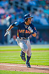 28 February 2017: Houston Astros outfielder Tony Kemp in action during the Spring Training inaugural game against the Washington Nationals at the Ballpark of the Palm Beaches in West Palm Beach, Florida. The Nationals defeated the Astros 4-3 in Grapefruit League play. Mandatory Credit: Ed Wolfstein Photo *** RAW (NEF) Image File Available ***