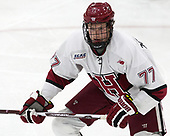 Lewis Zerter-Gossage (Harvard - 77) - The Harvard University Crimson tied the visiting Yale University Bulldogs 1-1 on Saturday, January 21, 2017, at the Bright-Landry Hockey Center in Boston, Massachusetts.