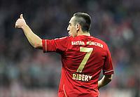 FUSSBALL   1. BUNDESLIGA  SAISON 2011/2012   15. Spieltag FC Bayern Muenchen - SV Werder Bremen        03.12.2011 Franck Ribery (FC Bayern Muenchen)
