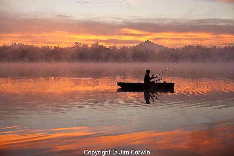 Fishing on Lake Cassidy