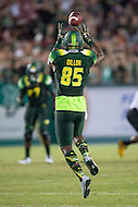 Tampa, FL - September 4th, 2016: South Florida Bulls tight end Elkanah Dillon (85) catches a pass across the middle of the field during game against Towson at Raymond James Stadium in Tampa, FL. (Photo by Phil Peters/Media Images International)