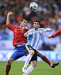 Fussball Nationalmannschaft, Freundschaftsspiel, Spanien - Argentinien, ESP - ARG