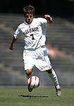 11 September 2005: Cline Beam. The Wake Forest Demon Deacons defeated the Rutgers Scarlet Knights 5-1 in an NCAA Divison I men's soccer game at Fetzer Field in Chapel Hill, NC.