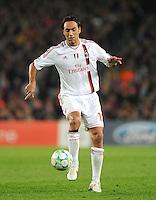 FUSSBALL  CHAMPIONS LEAGUE  VIERTELFINAL RUECKSPIEL   2011/2012      FC Barcelona - AC Mailand           03.04.2012 Alessandro Nesta (AC Mailand)