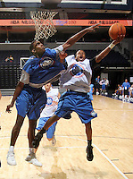 PG Isaiah Thomas (South Kent, CT / South Kent Preparatory) shoots the ball during the NBA Top 100 Camp held Thursday June 21, 2007 at the John Paul Jones arena in Charlottesville, Va. (Photo/Andrew Shurtleff)