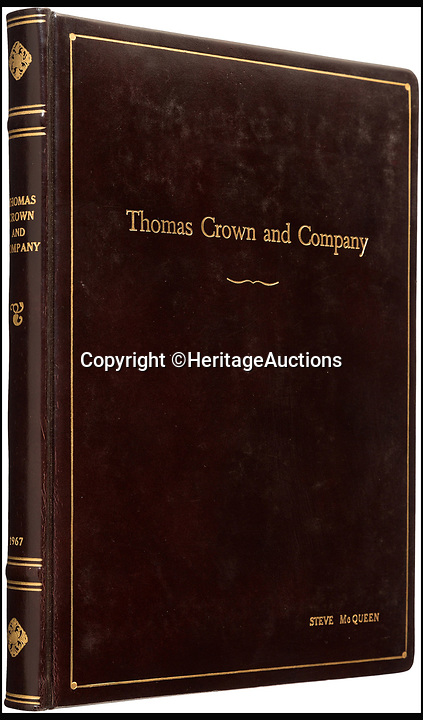 BNPS.co.uk (01202 558833)<br /> Pic: HeritageAuctions/BNPS<br /> <br /> Steve McQueen's Thomas Crown Affair script sold for &pound;16,130.<br /> <br /> The script belonging to actor Steve McQueen for The Great Escape which is covered in his suggestions for scenes and his character has sold for ten times its estimate.<br /> <br /> McQueen's personal script for the classic 1963 war film was estimated to fetch &pound;4,000 at auction but sold for a whopping &pound;40,325 ($50,000).<br /> <br /> It was one of 18 McQueen scripts being sold by a collector who knew McQueen at Heritage Auctions in America. The whole collection had an estimate of &pound;50,000 but smashed the expected price, making a total of &pound;203,343 ($252,125).