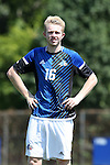 28 August 2016: UNC Asheville's Brendan O'Dowd. The Duke University Blue Devils hosted the University of North Carolina Asheville Bulldogs at Koskinen Stadium in Durham, North Carolina in a 2016 NCAA Division I Men's Soccer match. Duke won the game 5-1.