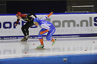 SCHAATSEN: HEERENVEEN: 16-01-2016 IJsstadion Thialf, Trainingswedstrijd Topsport, ©foto Martin de Jong